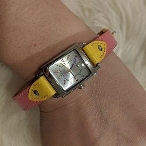 Nine West Genuine Leather Watch